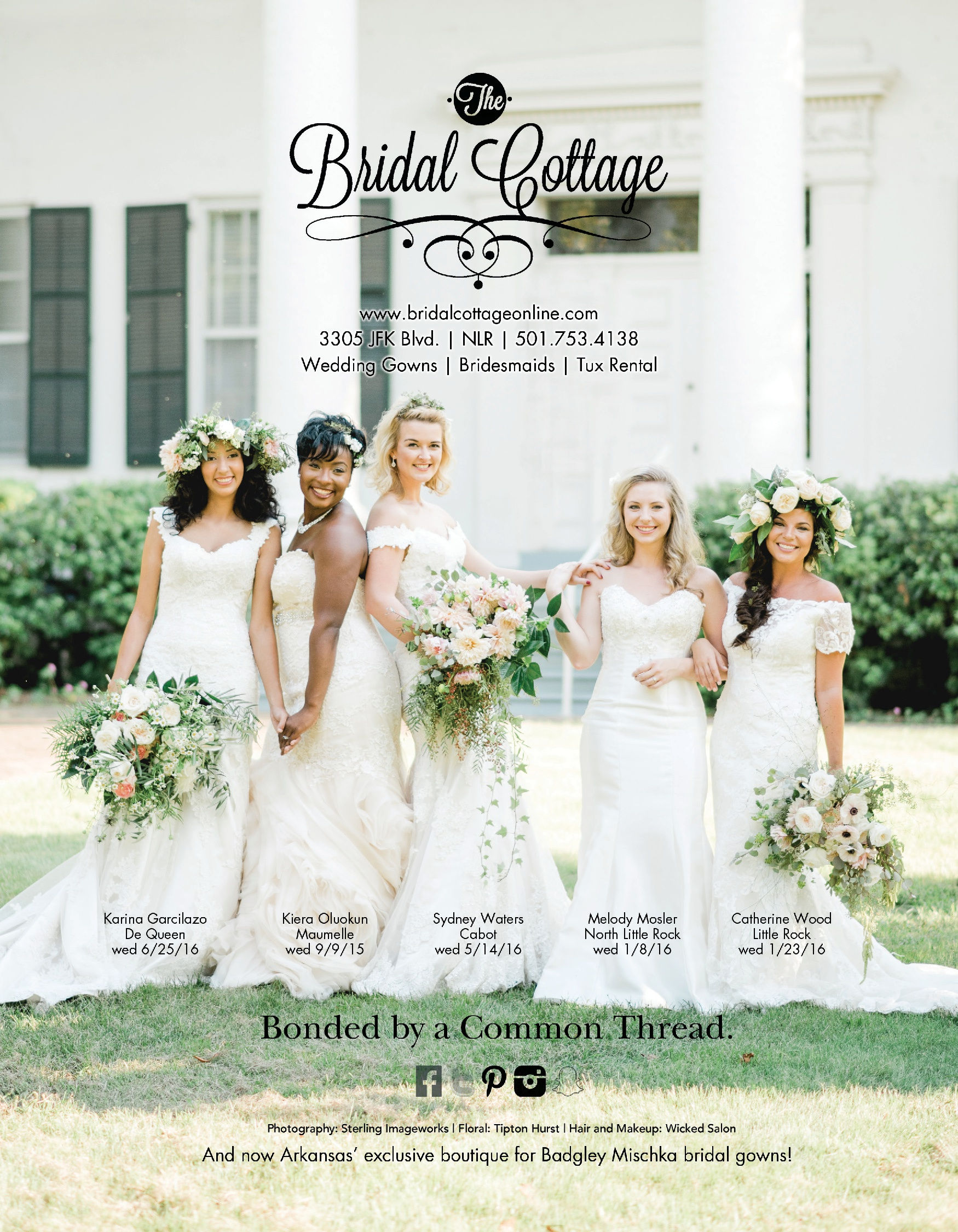 Thank You To Our Lovely Brides That Were Featured This Past Year